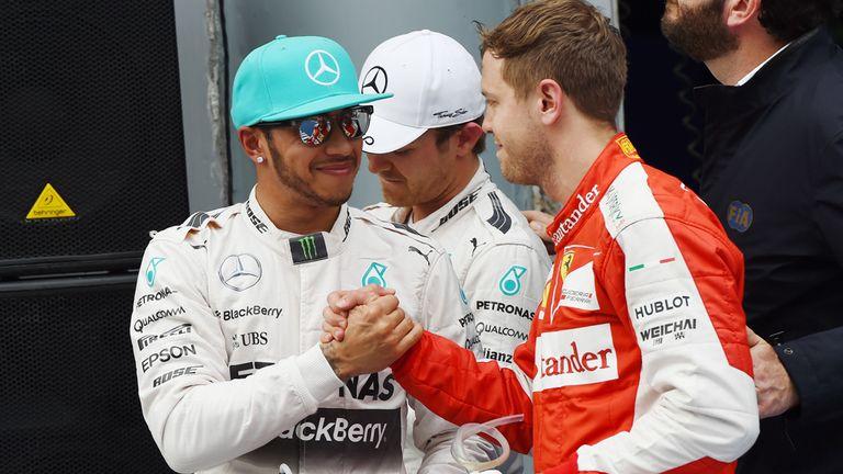 Lewis Hamilton on pole for Malaysia GP from Sebastian ...