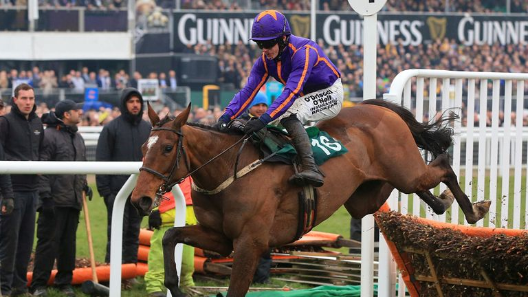Wicklow Brave returns to hurdles after having his most recent run in the Melbourne Cup