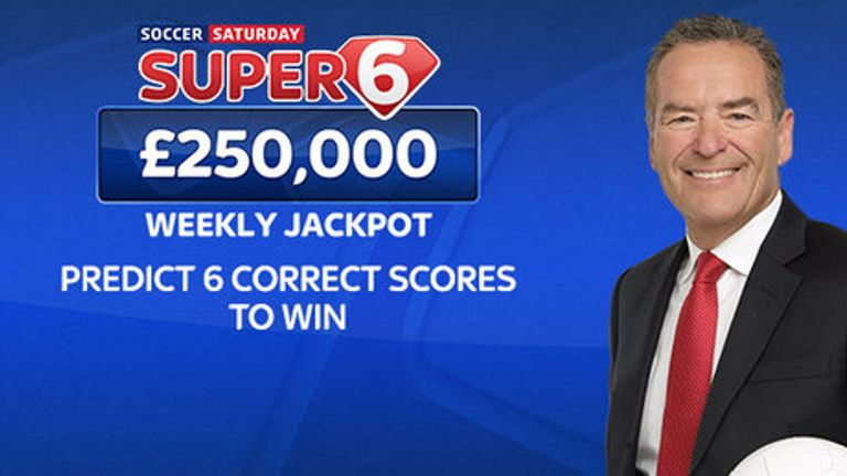 Super 6: Land £250k for six correct scores