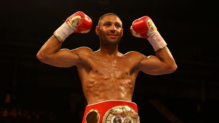 Brook has returned to welterweight to face the highly-rated America