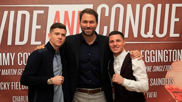 Luke Campbell and Tommy Coyle: they will both come through tough tests, says Jim (Image: Lawrence Lustig)