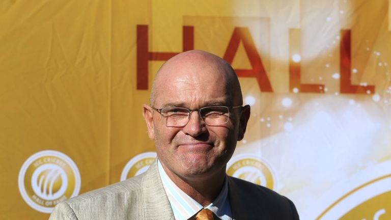 Former New Zealand cricket player Martin Crowe is inducted into ICC Cricket hall of fame