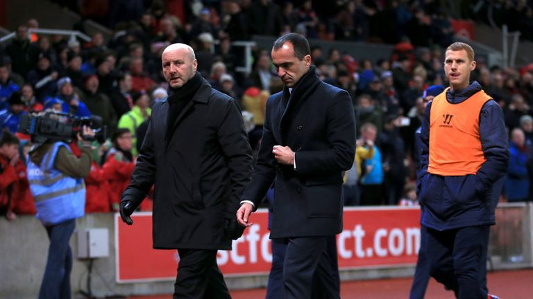 Pressure beginning to mount on Roberto Martinez