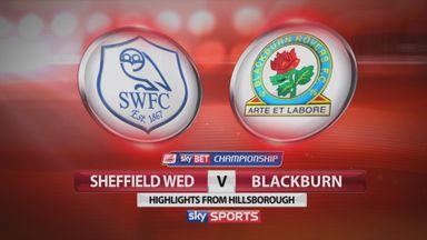 Sheffield Wednesday 1-2 Blackburn