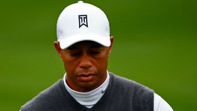 Tiger Woods: Has slipped down the world rankings
