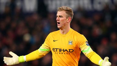Joe Hart admits the players have let Manuel Pellegrini down on occasions this term