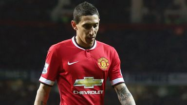 Angel Di Maria faded after a bright start at Old Trafford last season