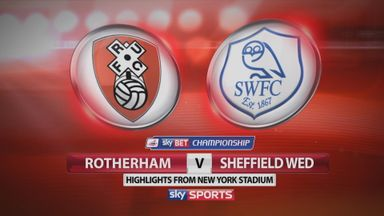 Rotherham 2-3 Sheffield Wednesday