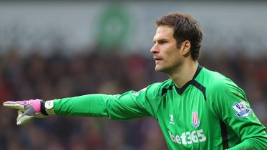 Asmir Begovic: The Bosnian has been at Stoke since 2010