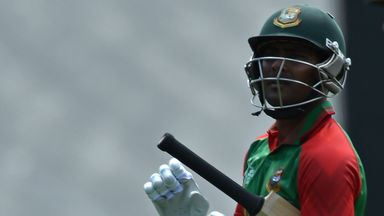 Rony Talukdar replaces Imrul Kayes (pictured) who had a disappointing World Cup campaign with the bat