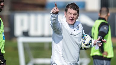 John Carver is hoping to put the kettle on if  Newcastle  return to winning ways against Swansea on Saturday