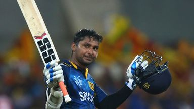 Kumar Sangakkara has played with some stellar names