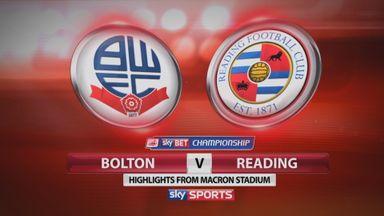 Bolton 1-1 Reading