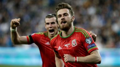 Aaron Ramsey will link up with Gareth Bale for Wales