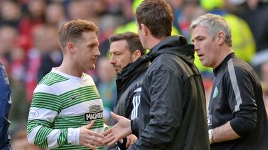 Kris Commons: Out of St Johnstone clash