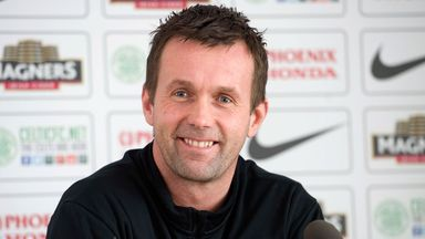 Ronny Deila: Set his sights on a treble with Celtic