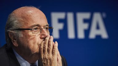 Sepp Blatter: Keeping a low profile in Zurich after Wednesday's arrests