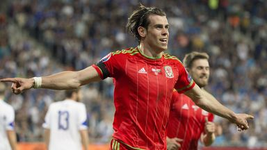 Gareth Bale was on target for Wales against Israel