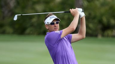 Ian Poulter: Dropped three shots in two holes after ugly shank at the fifth