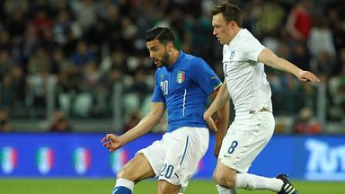 Graziano Pelle scored for Italy against England in March