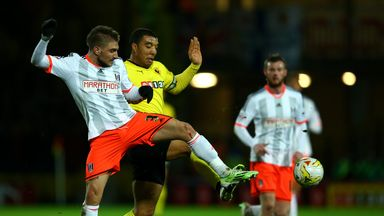 Troy Deeney (l): Scored the only goal of the game