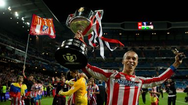 Joao Miranda: The defender won the Copa del Rey with Atletico Madrid