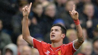 Philippe Coutinho fired home an unstoppable winning goal.