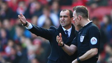 Roberto Martinez: Said scoreline did not reflect game