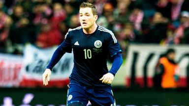 Ross McCormack: Fulham striker is out of the Scotland squad