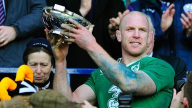 Paul O'Connell: Named player of the Six Nations