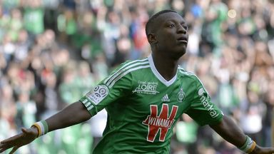 St Etienne striker Max Gradel looks to be on his way to Bournemouth