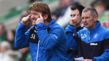 Stuart McCall has praised the Rangers supporters