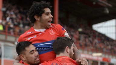 Albert Kelly: Scored twice for the home side