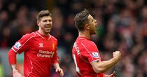 Jordan Henderson: Celebrates weekend goal against Manchester City