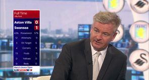 Nicholas surprised by Villa chances