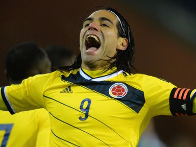 Falcao: Heads back to Old Trafford in confident mood