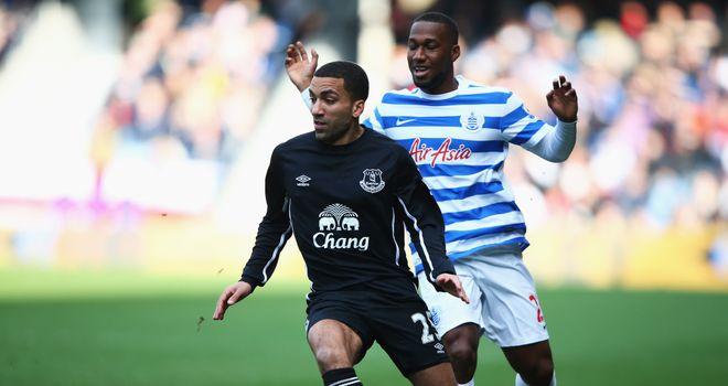 Aaron Lennon: Scored the winner for Everton at QPR