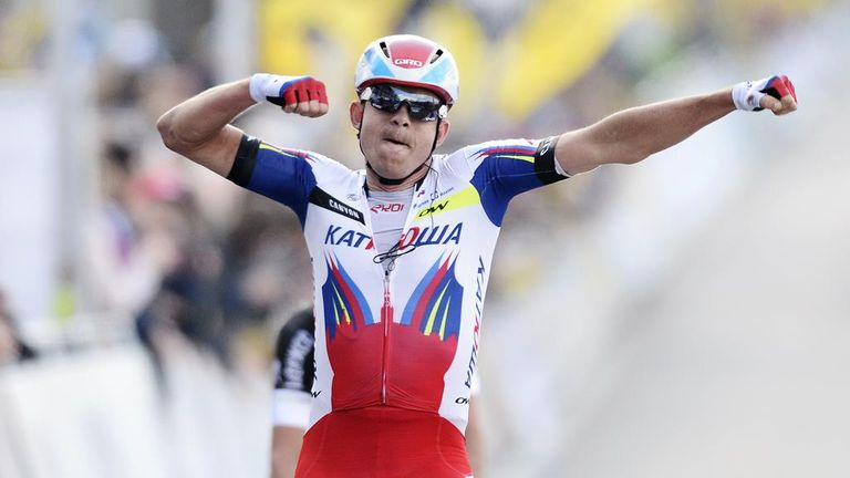 Alexander Kristoff sprinted to victory at the Tour of Flanders
