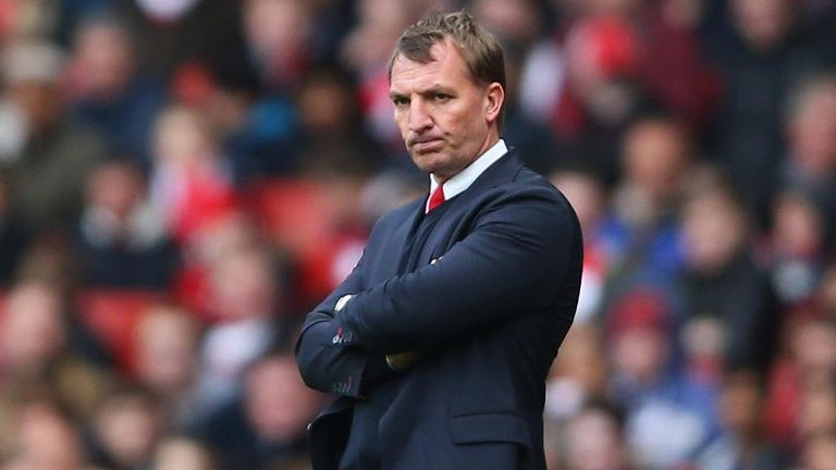 Brendan Rodgers: Liverpool manager has conceded defeat in his club's bid to qualify for next season's Champions League