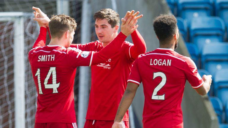Cammy Smith: Aberdeen striker scored the winner against Kilmarnock