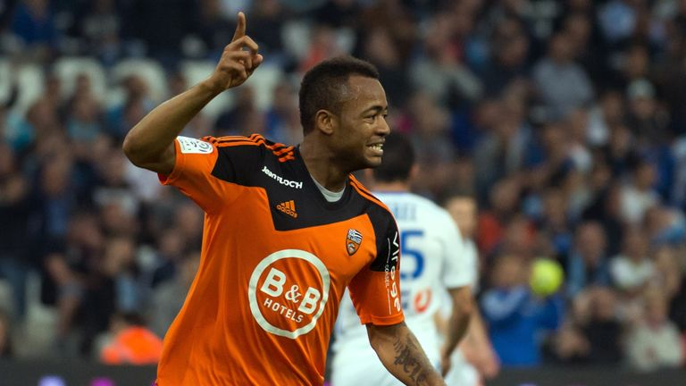Aston Villa have had a bid for Lorient's forward Jordan Ayew accepted, according to Sky sources.