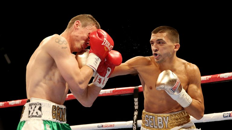 Lee Selby halted Brunker in the ninth in London back in October