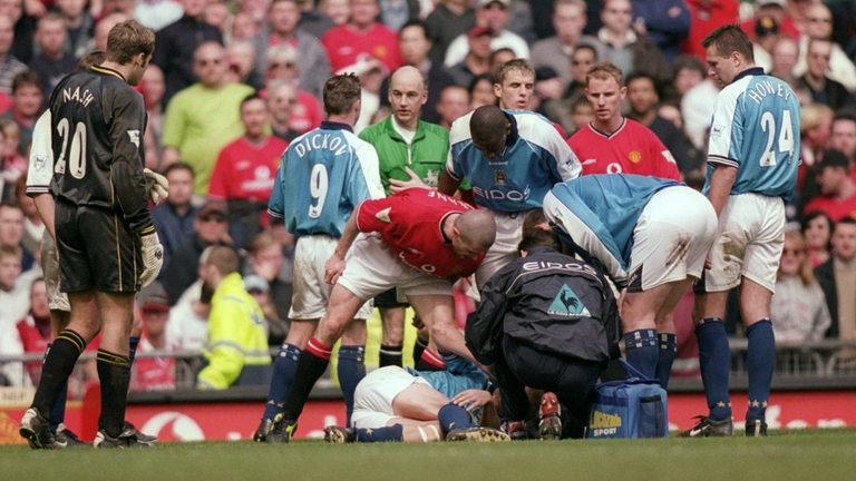 Roy Keane committed a bad foul on Alf-Inge Haaland in 2001