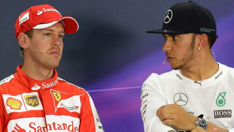 Sebastian Vettel vs Lewis Hamilton