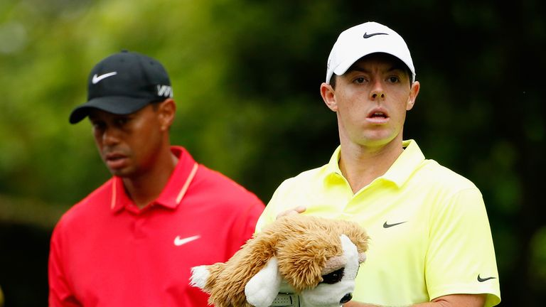 Tiger Woods and Rory McIlroy will play together for the first two rounds at Riviera