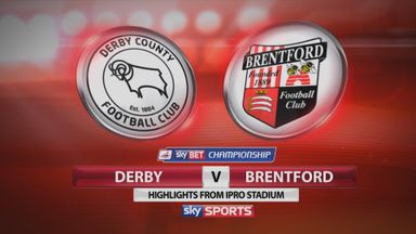Derby 1-1 Brentford