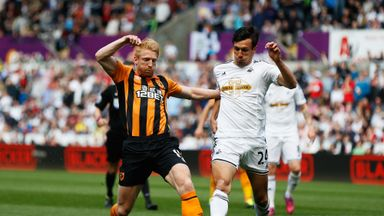 Paul McShane (left): Confident Hull can stay up