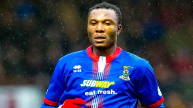 Edward Ofere targets Scottish Cup glory with Inverness