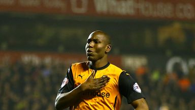 Benik Afobe: Keen to keep in touch with Saturday