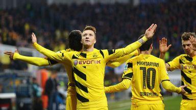 Borussia Dortmund beat Paderborn 3-0